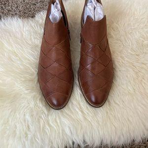 Seychelles Deep Sea Ankle Boot Cognac Size 9